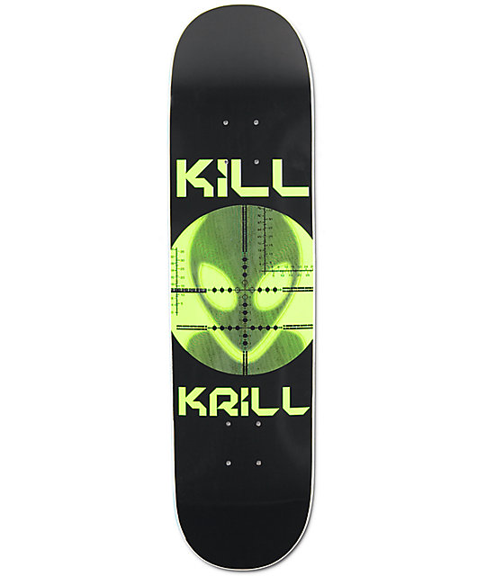 "Alien Workshop Kill Krill 7.87""  Skateboard Deck"