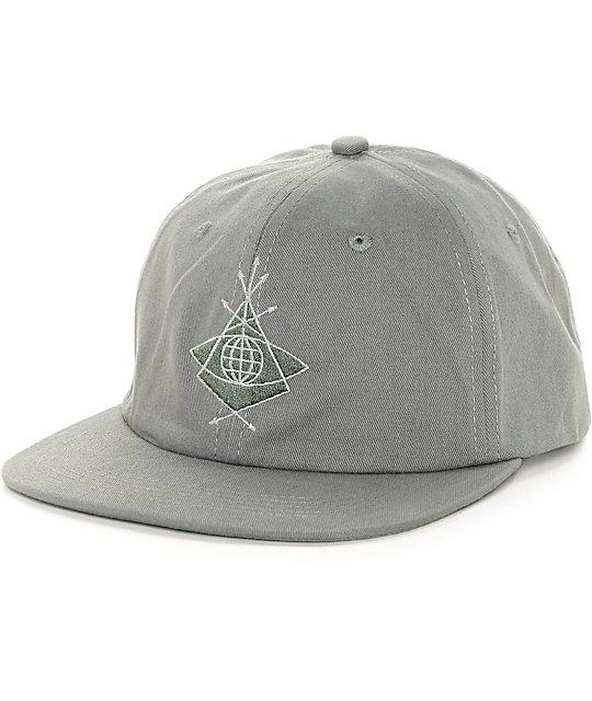 Alien Workshop Mystery School Grey Strapback Hat