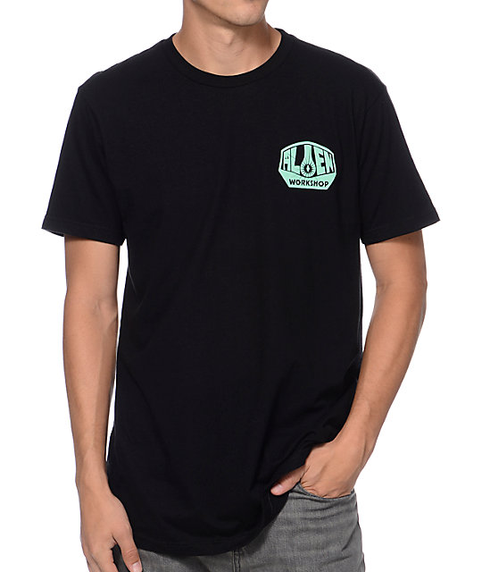 Alien Workshop OG Team Issue Black & Mint T-Shirt