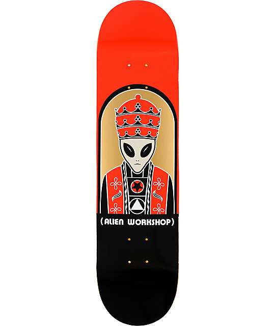 "Alien Workshop Priest 8.0""  Skateboard Deck"