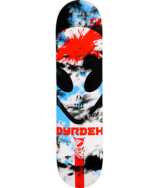 "Alien Workshop Psych Dyrdek 7.75"" Skateboard Deck 