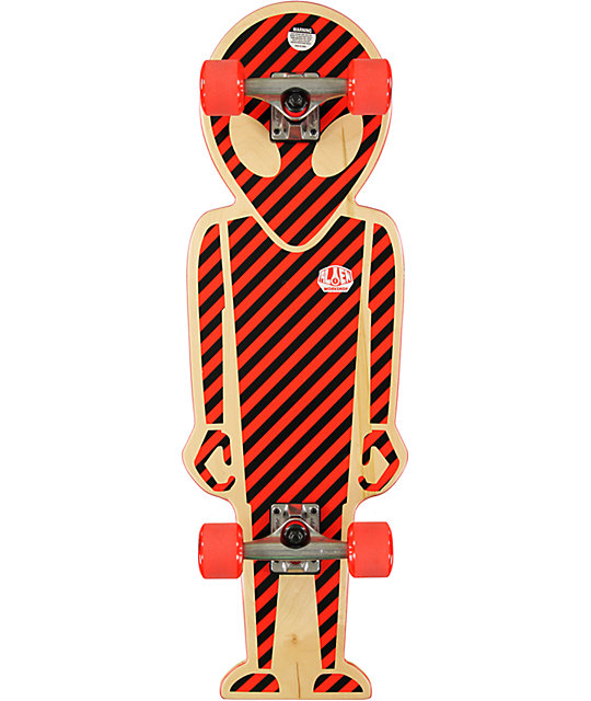 "Alien Workshop Soldier 32""  Shaped Cruiser Complete Skateboard"