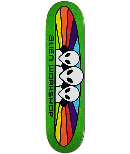 "Alien Workshop Spectrum 7.87"" Skateboard Deck"