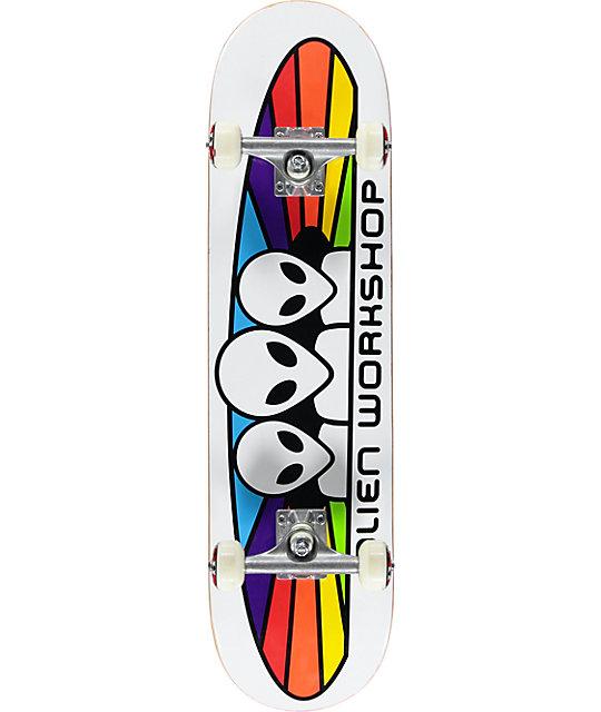 """Alien Workshop Spectrum 7.875"""" Complete Skateboard At"""