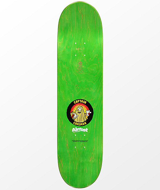 "Almost Caveman Backlight 8.0"" Skateboard Deck"