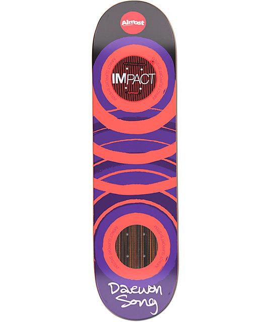 "Almost Daewon Glow Impact Support 8.25""  Skateboard Deck"