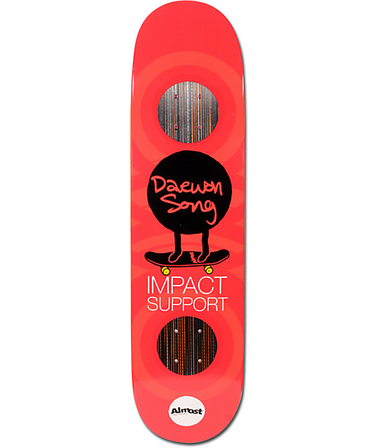 "Almost Daewon Mo Impact Support 7.9""  Skateboard Deck"