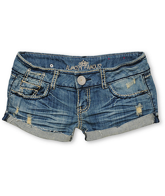 Almost Famous Lisa Cut Off Shorts