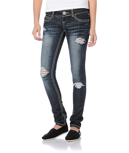 Almost Famous Maria Skinny Jeans