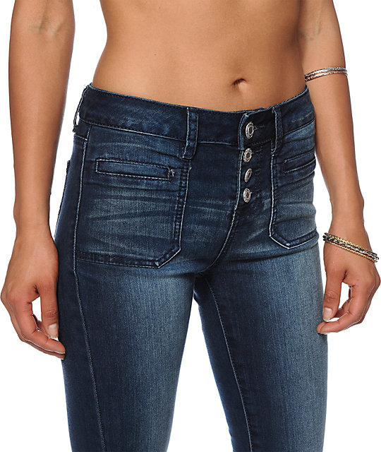 Almost Famous Tiffany High Waisted Jeans