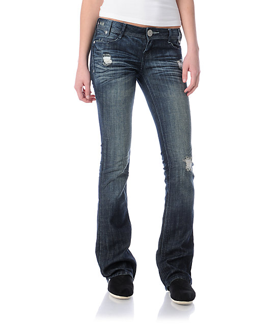 Almost Famous Whitney Bootcut Jeans
