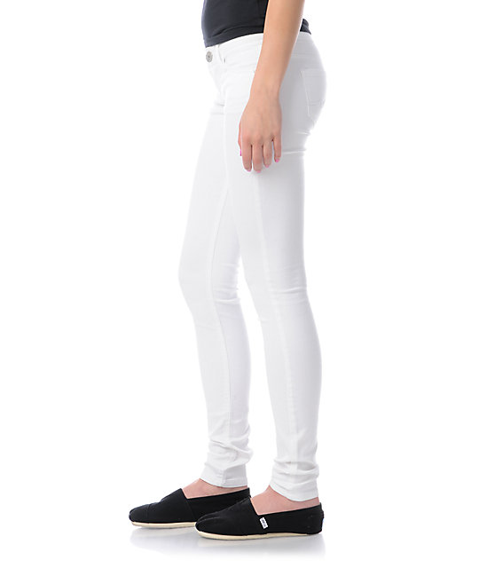 Almost Famous Willow White Jeggings