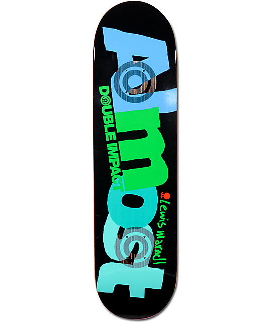 """Almost Marnell Life Savers Double Impact 8.0""""  Skateboard Deck"""