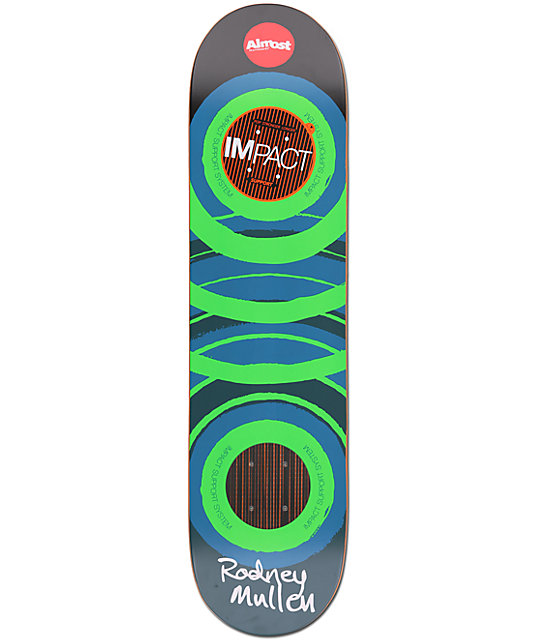 Almost Mullen Glow Impact Support 7.75