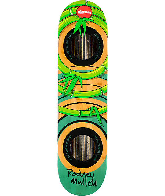 "Almost Mullen OG Bamboo Impact 8.0""  Skateboard Deck"