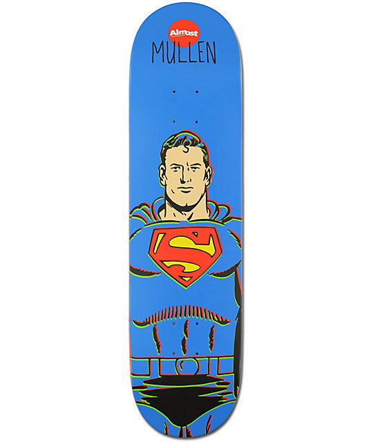 "Almost Mullen Superman 8.125""  Skateboard Deck"