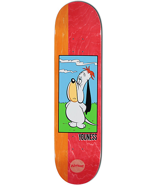 """Almost Youness Droopy 8.0"""" Skateboard Deck"""