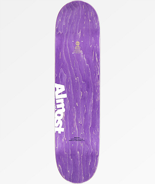 "Almost Yuri Snagglepuss Face 8.125"" Skateboard Deck"