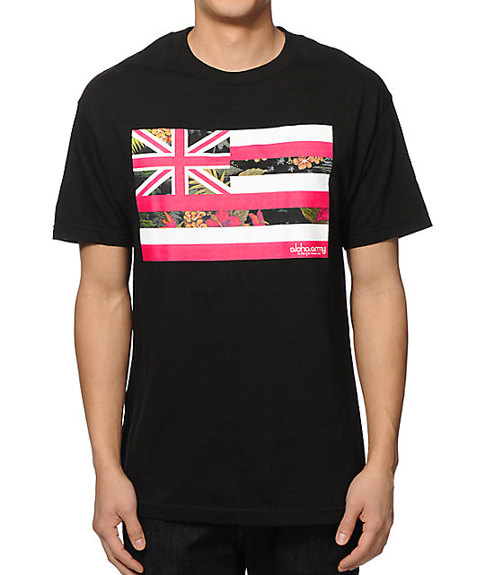 Aloha Army Pride Floral T-Shirt