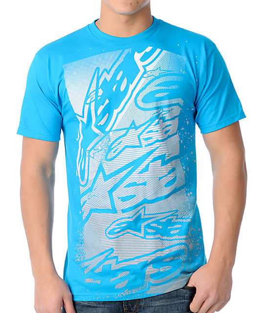 Alpine Sharp Turquoise T-Shirt