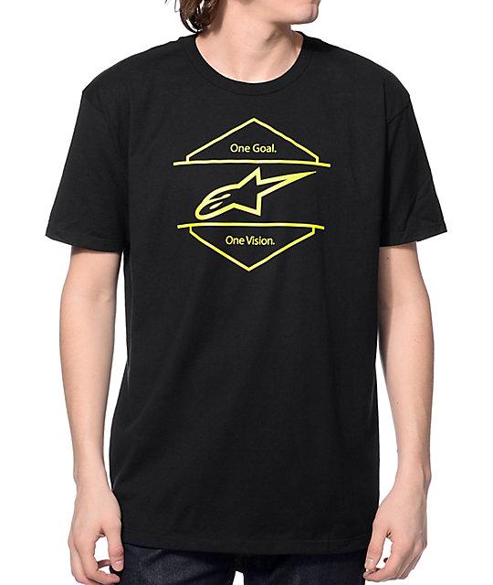 Alpine Stars Bolt On Black T-Shirt
