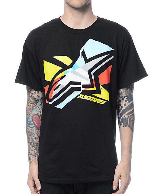 Alpinestars CMYK Black T-Shirt