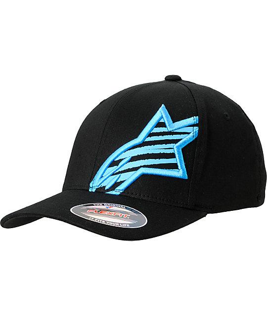 Alpinestars Chalk Flexfit Black Hat