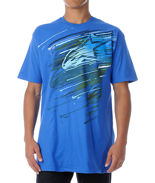 Alpinestars Cosmo Blue T-Shirt