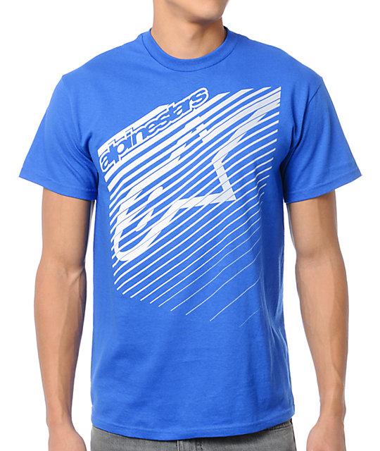 Alpinestars Eclipse Blue T-Shirt