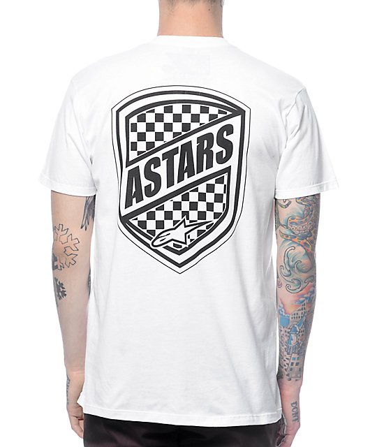 Alpinestars Guard White T-Shirt