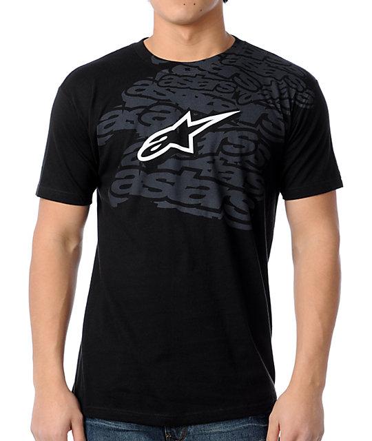 Alpinestars Stack Black T-Shirt