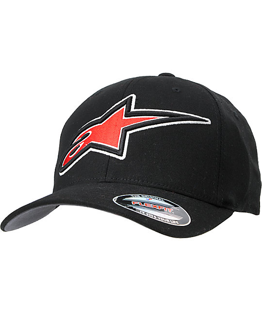 Alpinestars Superstar Black FlexFit Hat