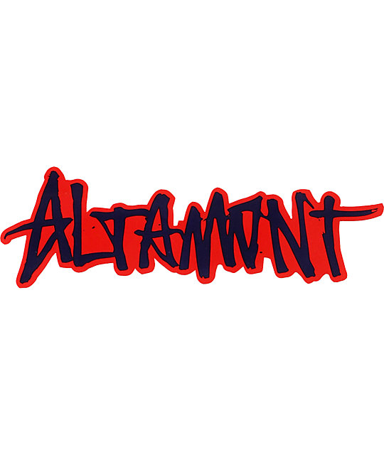 Altamont 8 Logo Sticker