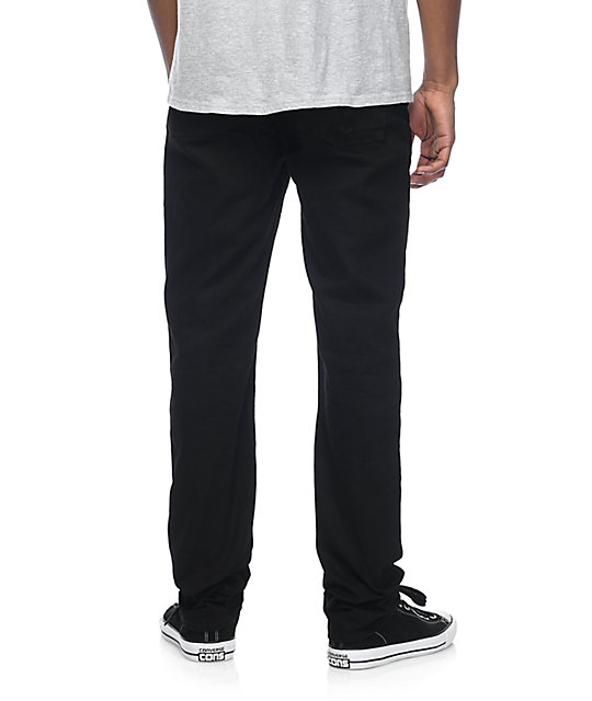 Altamont 969 Slim Straight Black Jeans