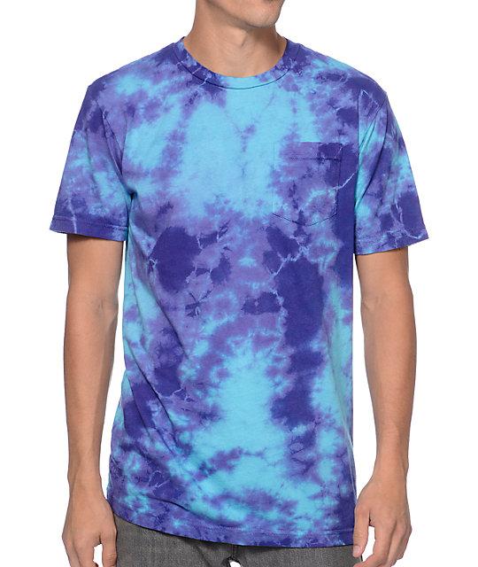 Altamont Bailout Turquoise Tie Dye Pocket T-Shirt