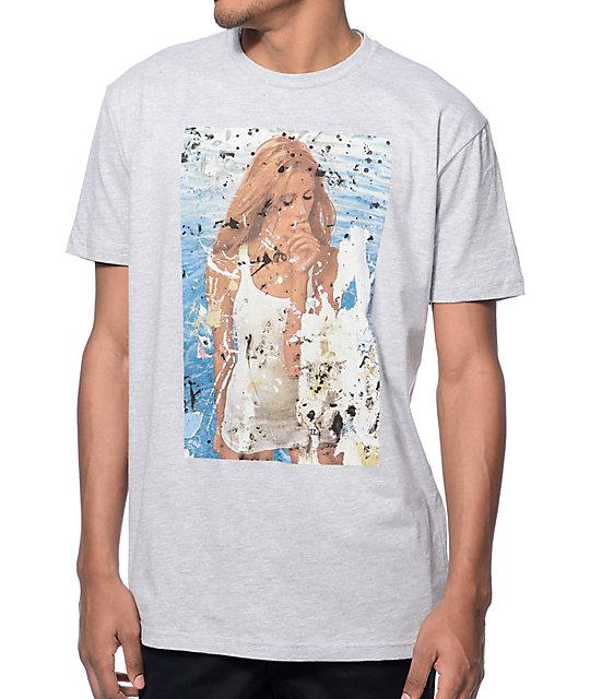 Altamont Brunetti Heather Grey T-Shirt