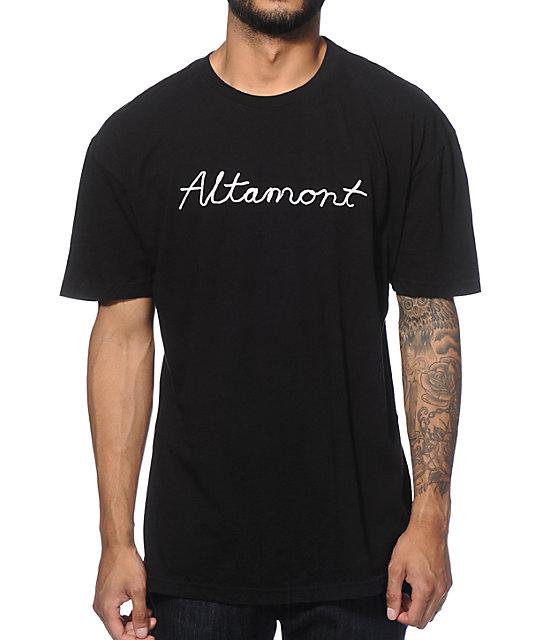 Altamont Cursive T-Shirt