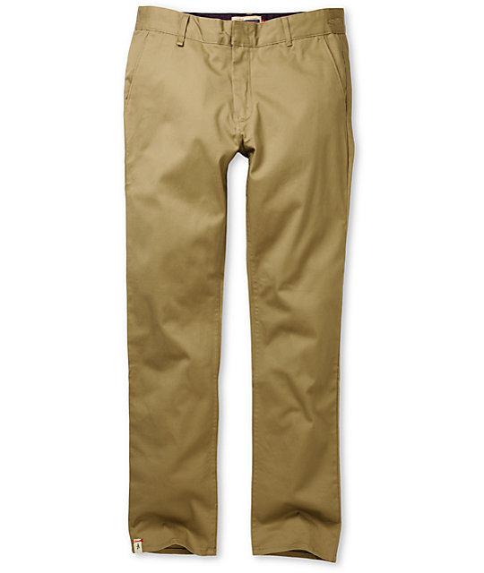 Altamont Davis Slim Khaki Chino Pant