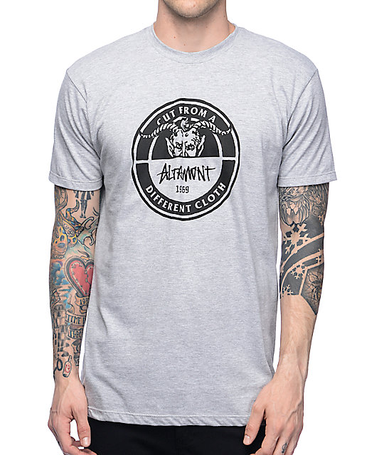 Altamont Devil Circle Grey T-Shirt