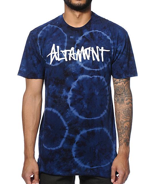 Altamont Murky Water Oneliner Tie Dye T-Shirt