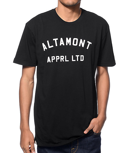 Altamont Non-Game Black T-Shirt