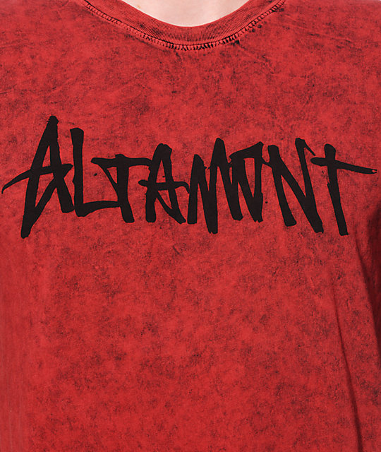 Altamont Oneliner Washed T-Shirt