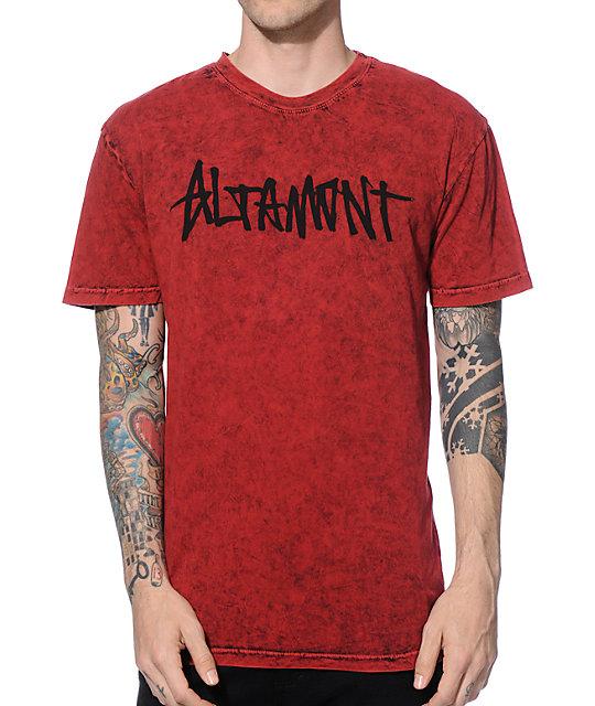 Altamont Oneliner Washed T-Shirt