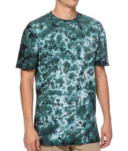 Altamont Ramirez Dark Teal Tie Dye T-Shirt