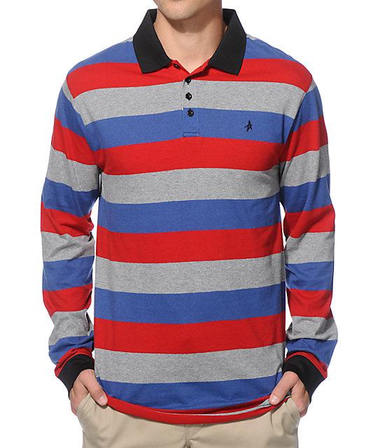 Altamont Reynolds Long Sleeve Polo Shirt