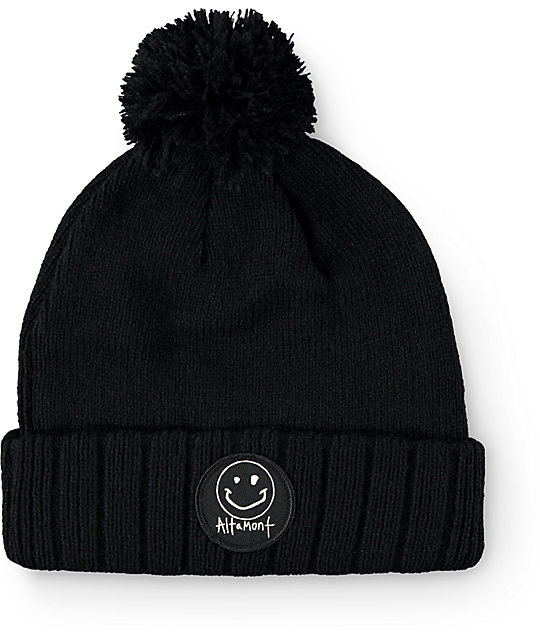 Altamont Reynolds Smiley Pom Beanie