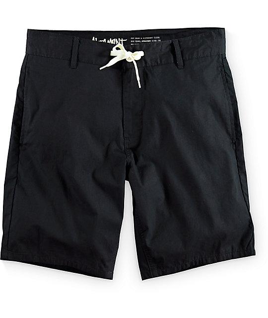 Altamont Sanford Black Shorts