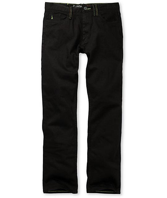 Altamont Slash Signature Black Regular Jeans