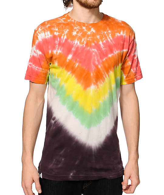 Altamont Summit Fire Tie Dye T-Shirt