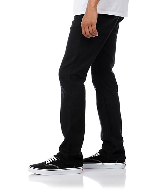 Altamont Wilshire Slash OD Black Regular Jeans